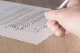 Гражданска отговорност 4 - подпис