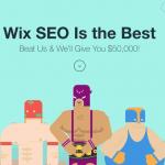 Wix SEO състезание