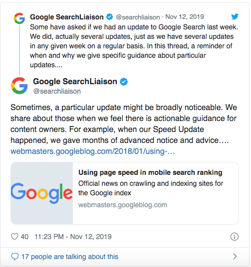 Обновление в алгоритъма на Google - Optimystica 5
