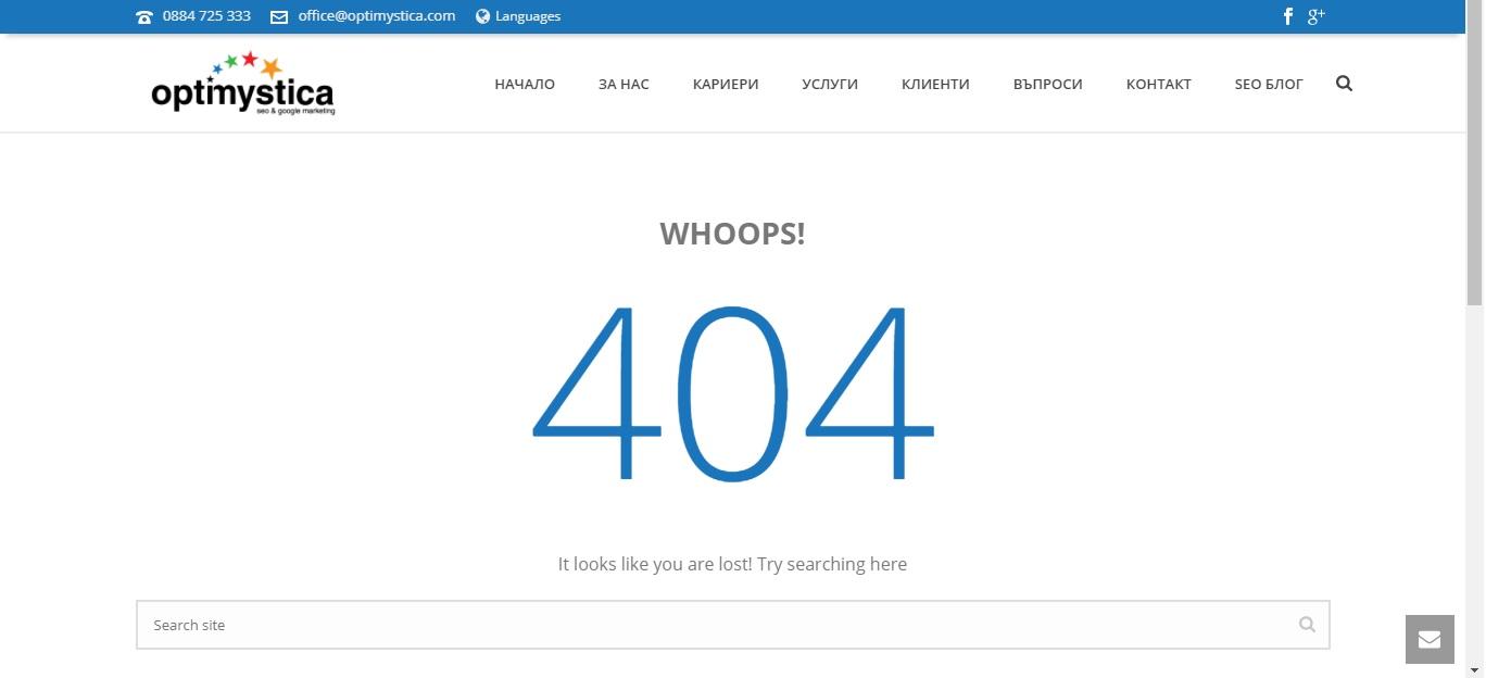 Изработка на сайт и уеб дизайн 35 - оптимизиране