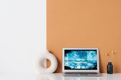 Онлайн маркетинг 30 - оранжево